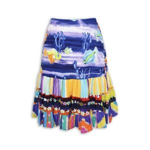 Jams World XL Hattie Skirt Talking Fish Multicolor